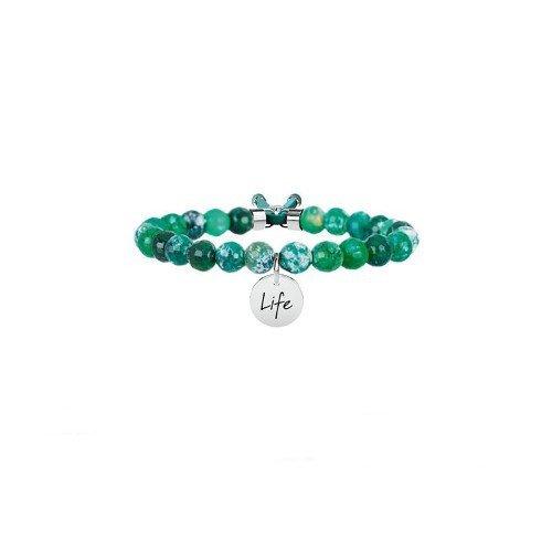 Bracciale Kidult Agata Verde Symbols Life Collection Ref. 231530