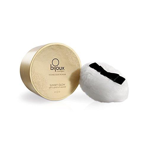 Bijoux Indiscrets - Soft Caramel Body Powder - schimmerndes und abküssbares Körperpuder, mit dem...