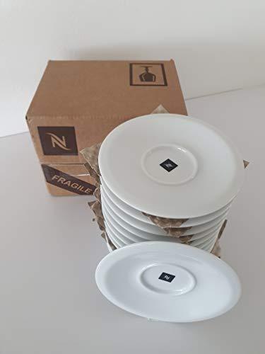 Nespresso Untertassen klein PROFESSIONAL 12 Stück