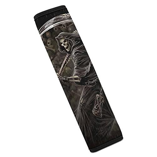 Grim Reaper Yokai Car Seat Belt Cover Pads Fashion Shoulder Seatbelt Pads Cover Safety Belt Strap Shoulder Pad for Adults and Children 3D Print