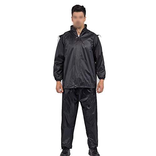 Bestand tegen regen en wind tegen douche voor volwassenen, outdoor, split laboratorium Insurance individuele rits, trekking regenjas regenbroek pak, geschikt voor activiteiten X-Large