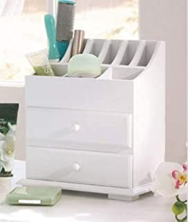 Vanity Beauty Organizer with Drawers for Bathroom or Dresser. Get Organized By Storing Your Jewelry Makeup and Clutter in This Contemporary Organizing Cabinet. Great Home Organization Tool, Organize Your Life with This Modern Convenience