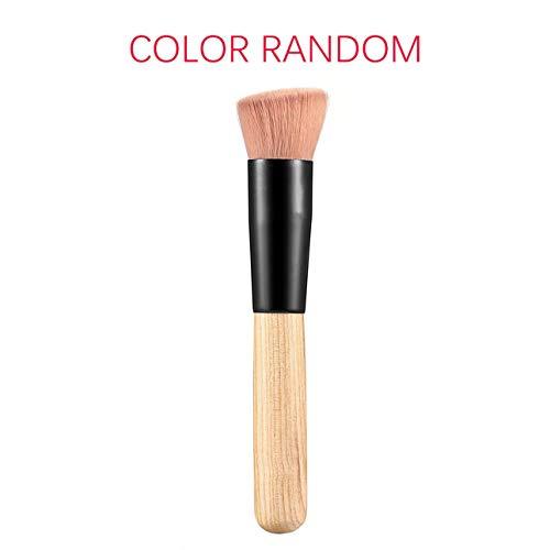 Ballylelly Maquiagem Multifonction Maquillage Brosse Fibre Douce Fond Plat Base Poudre Incline Brosse Outil Cosmétique