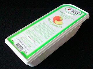 ペシェブランシュ(白桃)ピューレ 1kg