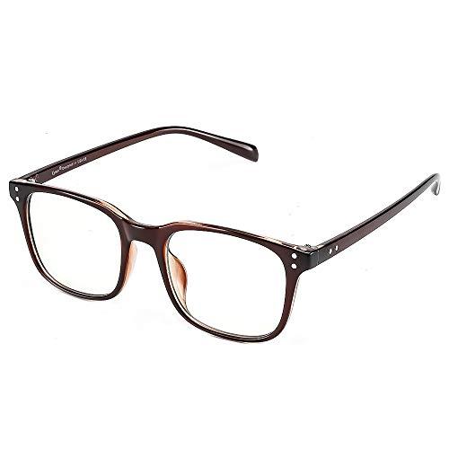 Cyxus Blaulichfilter Brille Ohne Stärke, TR90 Superleicht【Gesamtbreite: 137 mm】 Computerbrille Gaming Brille, Bildschirmbrille