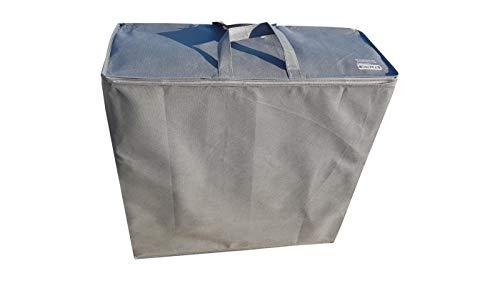 Aufbewahrungstasche für klappmatratze, Allzwecktasche (Grau-Matratze: 195x65x10cm)