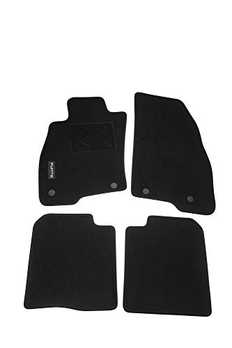 Mopar® Authentic Accessories 71807919 Tappetini in Moquette per Auto. Colore Nero
