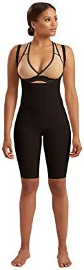 Marena Recovery Knee Length Girdle Stage 2 pull on Black 2XL product image
