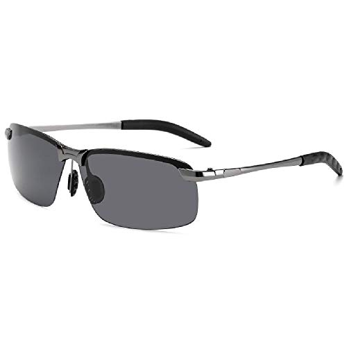 Nobrand Gafas de sol que cambian de color gafas de sol de conducción gafas polarizadas gafas para todo clima