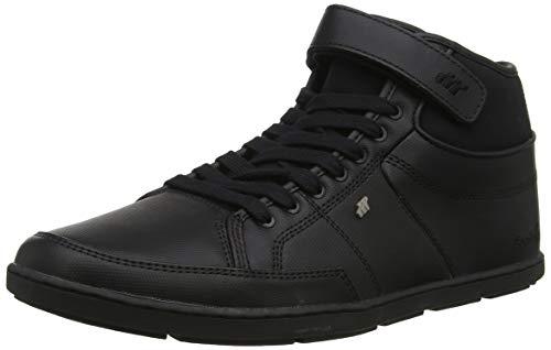 Boxfresh Herren Swich Blok Hohe Sneaker, Schwarz (Black Blk), 42 EU