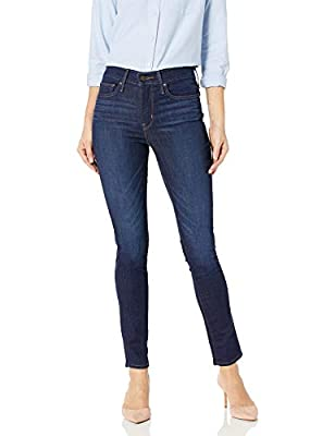 Levi's Women's Slimming Skinny Jeans, Underwater Canyon (89% Cotton, 9% Polyester, 2% Elastane), 32Wx32L