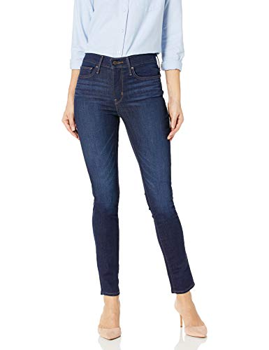 Levi's Women's Slimming Skinny Jeans, Underwater Canyon (89% Cotton, 9% Polyester, 2% Elastane), 28Wx30L