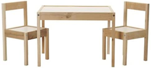 IKEA KidTable, Table and 2 Chairs, White