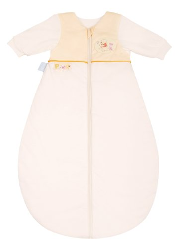 Julius Zöllner 9240147810 - Disney Schlummerle Plus - Sac de couchage - Jersey - avec manches - vanille - 90 cm