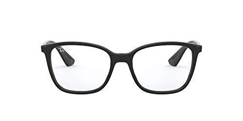 Ray-Ban Herren 0rx 7066 2000 52 Brillengestell, Schwarz (Shiny Black)