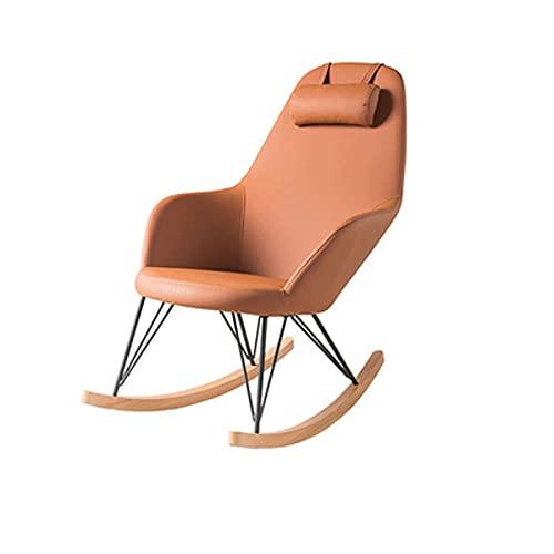 LABIXN - Sedia a dondolo per adulti, per balcone, sedia a dondolo, per soggiorno, sedia a dondolo, colore: A)