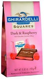 Ghirardelli Dark Chocolate Raspberry Squares, 5.32 Ounces