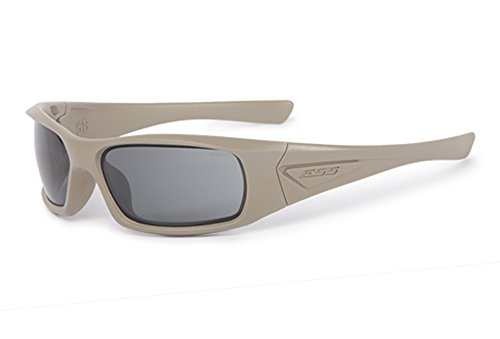 ESS 5B - Gafas de Sol (Lentes universales, Lentes de Color Gris Ahumado)