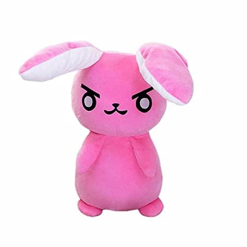 50cm DVA Conejo Juguetes de Peluche Lindo muñeco de Peluche Suave Cojines Rosas Accesorios de Cosplay para niños Adultos