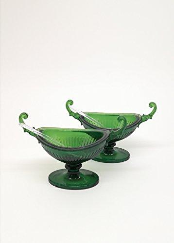 Mario Luca Giusti Saliera Casanova 2er Set grün