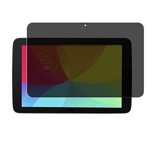 Vaxson Protector de Pantalla de Privacidad, compatible con LG V700 LG G Pad 10.1' [no vidrio templado] TPU Película Protectora Anti Espía