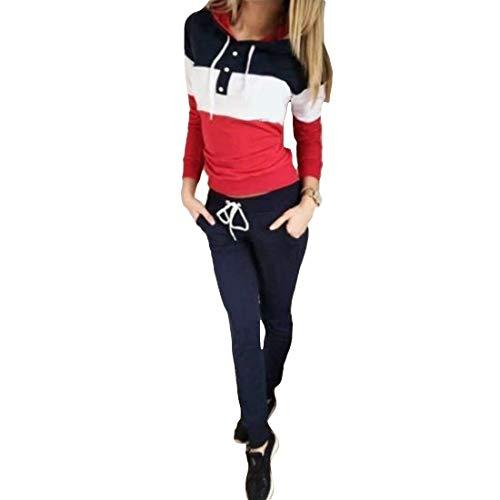 MUCHAO Sport Anzug für Frauen 2 Stück/Sätze BH + Leggings Fitness-Anzüge für Yoga, Laufen und andere Aktivitäten Gra