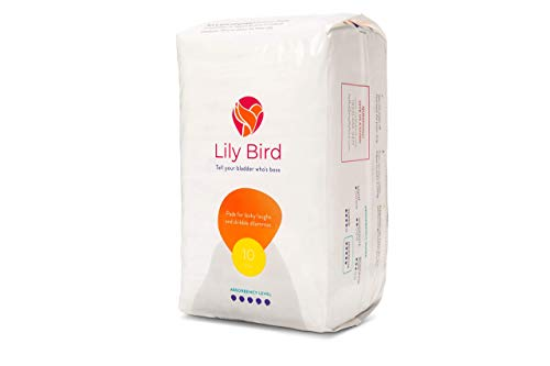 Save an Additional 10% When You add Lily Bird Incontinence Pads for Women (Maximum Size) to an Order of Lily Bird Incontinence Underwear for Women (Medium Size)