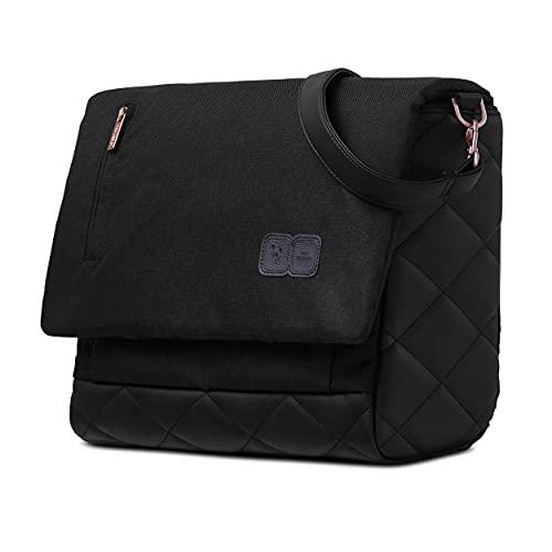 ABC Design Wickeltasche Urban - Crossbody Bag mit Baby Zubehör – Messenger Bag - großes Hauptfach - breiten Schultergurt - Polyester - Farbe: rose gold