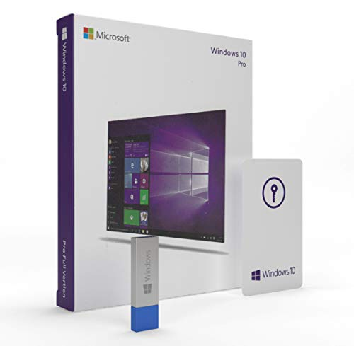 Price comparison product image Windows 10 Pro USB 64-Bit / Lifetime License / English Version