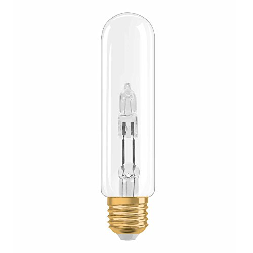Osram Vintage Edition Halogen-Lampe, Tubular - Form, E27-Sockel, dimmbar, 20 Watt - Ersatz für 25 Watt, Warmweiß - 2700K