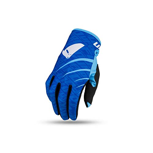 UFO - Guantes indios (talla M), color azul