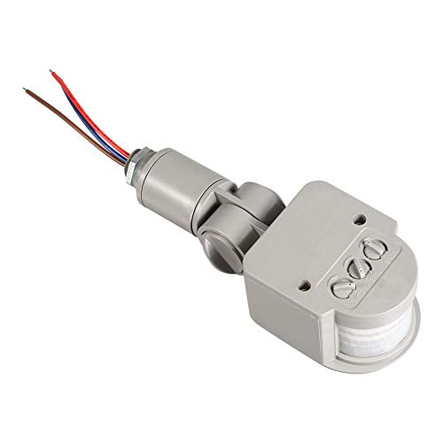 Motion Sensor Detector, 180° Infrared PIR Motion Sensor Detector LED Lamp Automatic Control Module, AC90V~250V