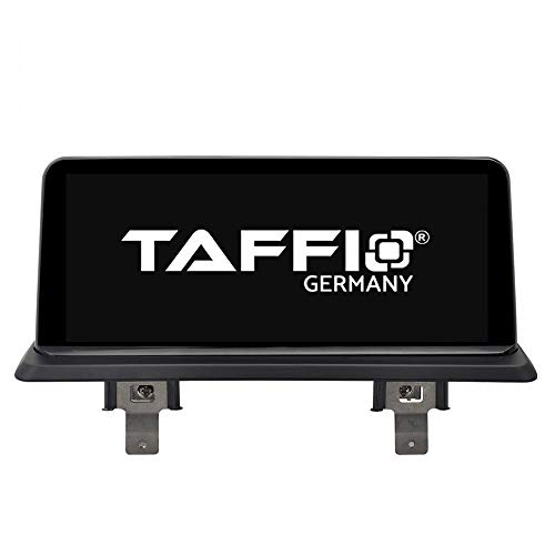 TAFFIO® Android 9.0 Anti Glare Touchscreen GPS Navigation SD USB Multimedia Media Player für BMW 1 E81 E82 E87 E88 ohne Original