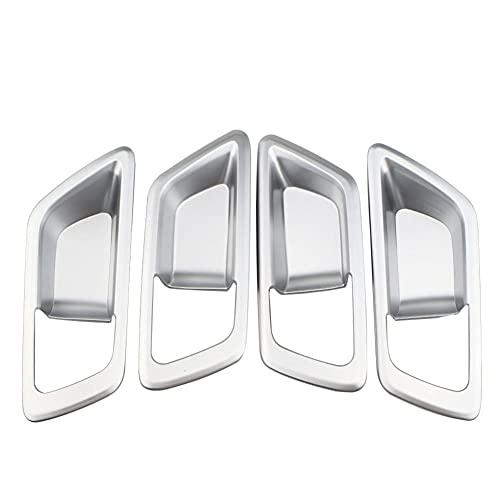 Etiqueta engomada de la Cubierta de protección del Cuenco de la Puerta del Ajuste de la manija de la Puerta Interior del Estilo del Coche, para Toyota C-HR CHR 2016-2020 Piezas