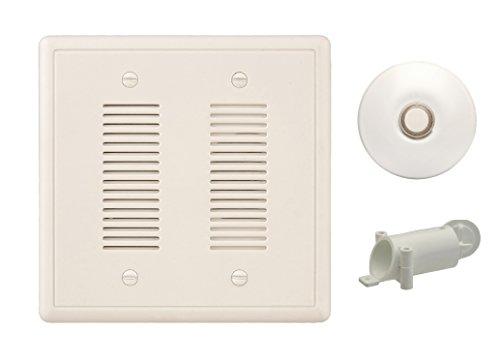 NICOR Lighting 18888SB-WH doorbell-kits, Black
