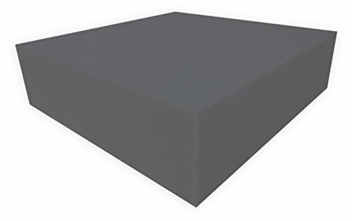 Dibapur ® - Schaumstoff Platten Auswahl: - RG20 bis RG40-100x200 höhe 1 cm bis 12 cm (RG25/44 Anth - 100x200x3cm)