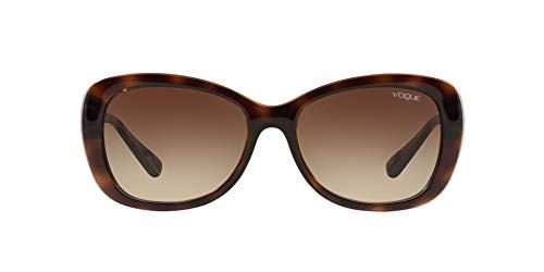 Vogue 0Vo2943Sb Gafas de sol, Dark Havana, 55 para Mujer