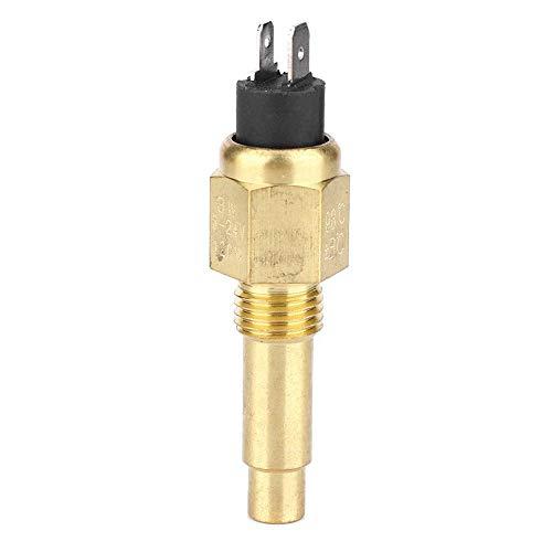 Motorwatertemperatuursensor, 3/8 '' NPT messing buitendraad koelvloeistof koeling temp sensor, 100-248'F thermostaat detector sensor voor VDO 6~24V motoraccessoire
