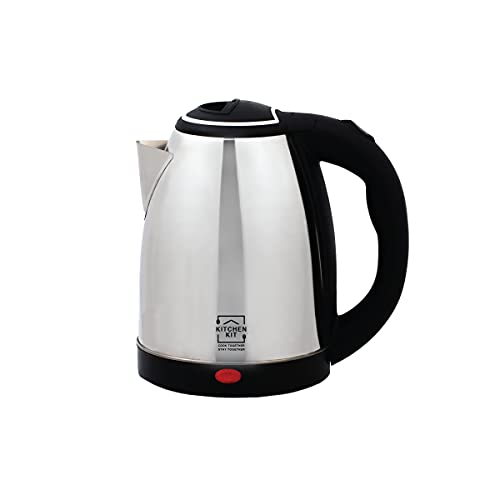 Kitchen Kit Electric Kettle, 1.8L Stainless Steel Tea Kettle, Fast Boil Water Warmer with Auto Shut Off and Boil Dry…