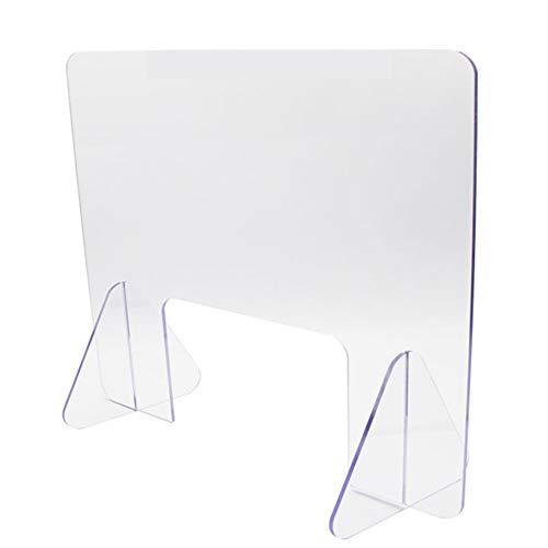 Protection plexiglas de qualité supérieure en Verre Acrylique Paroi de Protection en plexiglas Transparent Plaque de Protection Contre Les Virus 40x40 cm,40 * 40cm