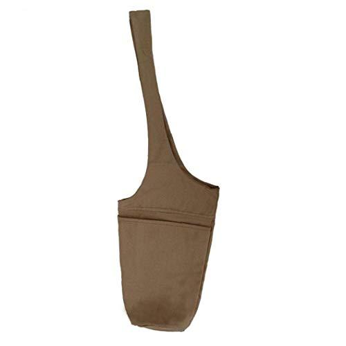 Aiyrchin Aptitud Yoga Mat Bolsa de Almacenamiento de Color Caqui Yoga Mat Bolsa de Yoga Mat Yoga Mat Bolsillo Portador de la Honda