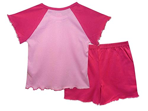 Hey Duggee Girls Short Summer Pyjamas Pjs Ages 12 Months to 4 Years Old (2-3 Years) Pink