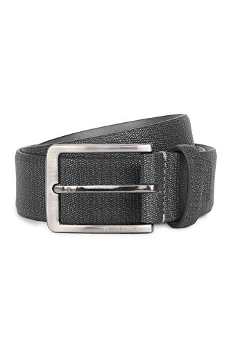 Peter England Men's Leather Belt (RL51994038_Black_M)