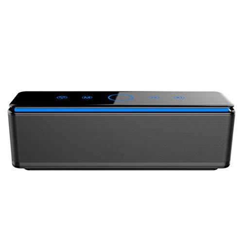 HIOD Bocina Bluetooth 4 Altavoces Bajo Mejorado Altavoz Inalámbrico 8000mAh Batería Al Aire Libre Emergencia energia movil