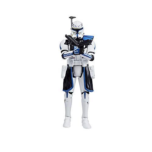 Hasbro Star Wars Black Series- The Clone Wars-Captain Rex Star Figurina, Multicolore, F1096
