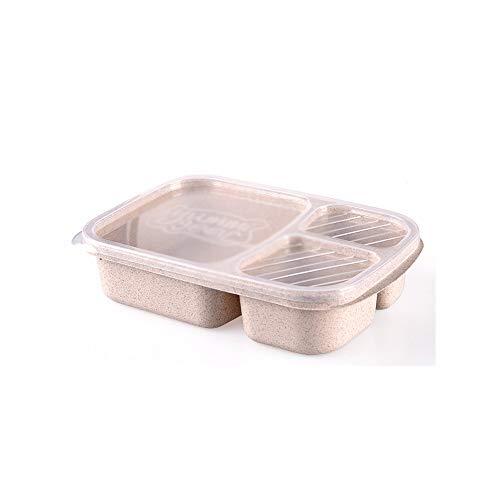 SKREOJF Picnic Compartimiento de Almacenamiento de Comidas Fiambrera Preparación de Alimentos Caja de Camping al Aire Libre Comida Ligera de la Caja de Almuerzo, Snack Box (Color : C)