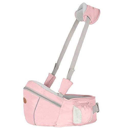 DERALIN Babygeschirr Hüfthocker Gehhilfe Baby Hüftsitz OneSize/Pink