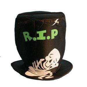 HALLOWEEN FUN HAT: R.I.P. (noir) [Jouet]