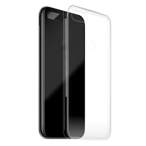 KSTORE365 Funda para Xiaomi Redmi 6, Carcasa Silicona Transparente, Protector De Goma Blanda, Cover Caucho, Gel TPU para Xiaomi Redmi 6