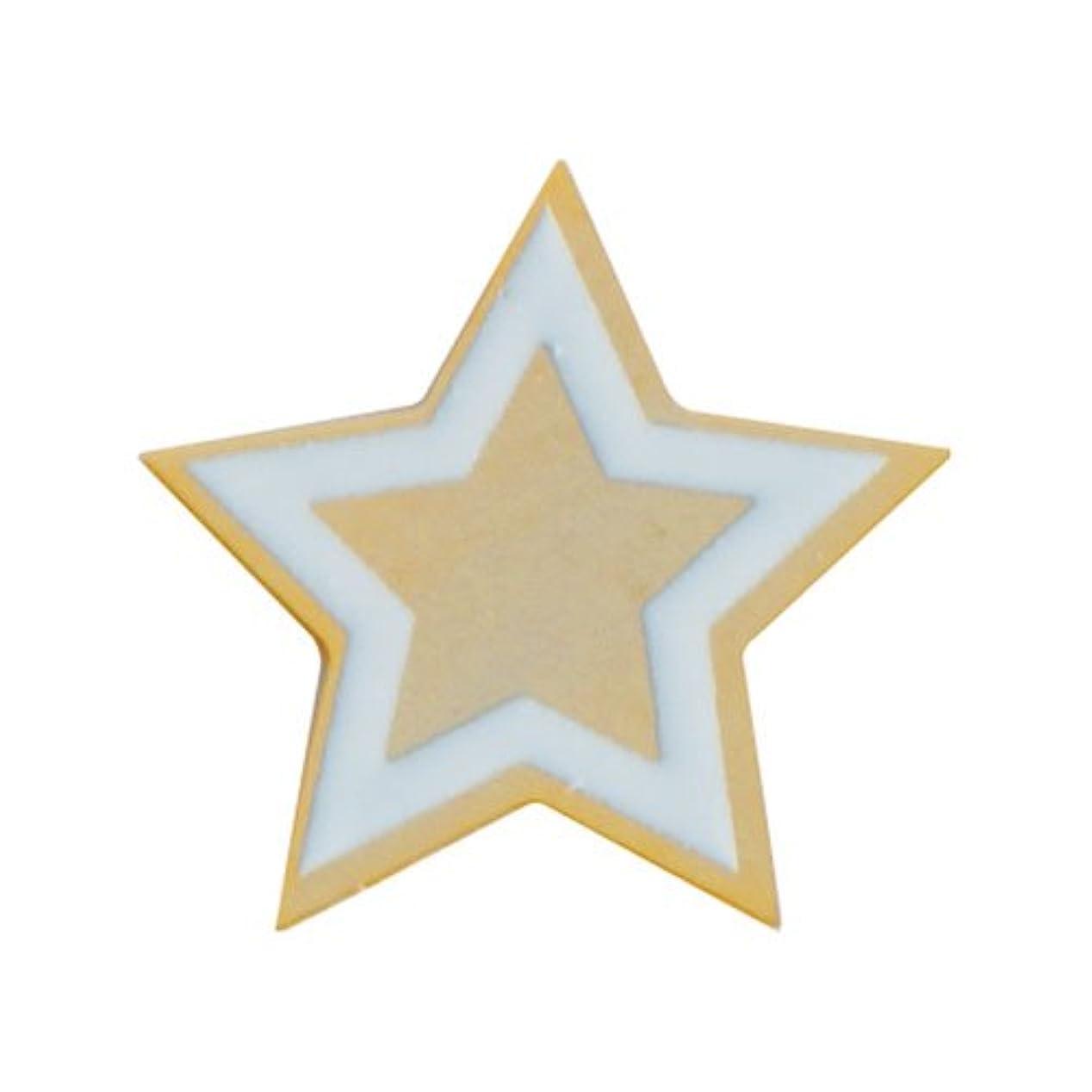 トロピカルアイデア話をするリトルプリティー ネイルアートパーツ PWツインクルスター S ゴールド 10個